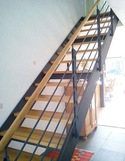 Flachstahl-Treppen von Alfa Treppen Kirchheim